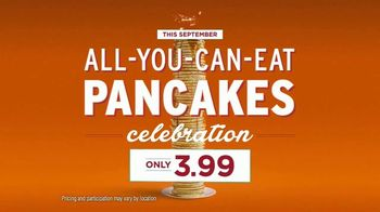 Village Inn All-You-Can-Eat Pancakes Celebration TV Spot, 'Birthday' - Thumbnail 6
