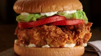 Zaxby's Sandwich Meals TV Spot, 'Worth Doing Right and Left' - Thumbnail 1