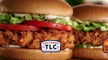 Zaxby's Sandwich Meals TV Spot, 'Worth Doing Right and Left' - Thumbnail 5