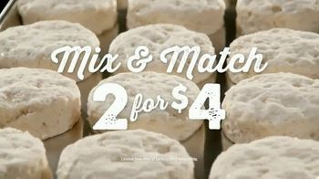 Bojangles' Mix & Match 2 for $4 TV Spot, 'Biscuits Baked From Scratch' - Thumbnail 7