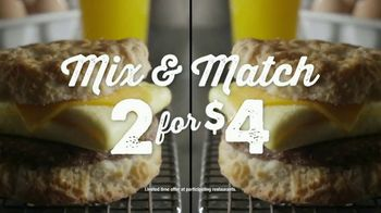 Bojangles' Mix & Match 2 for $4 TV Spot, 'Biscuits Baked From Scratch' - Thumbnail 8