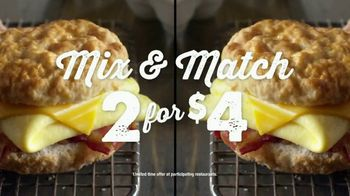 Bojangles' Mix & Match 2 for $4 TV Spot, 'Biscuits Baked From Scratch' - Thumbnail 9