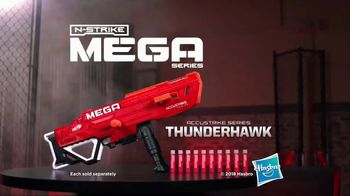 Nerf N-Strike Mega AccuStrike Series Thunderhawk TV Spot, 'Accuracy' - Thumbnail 8