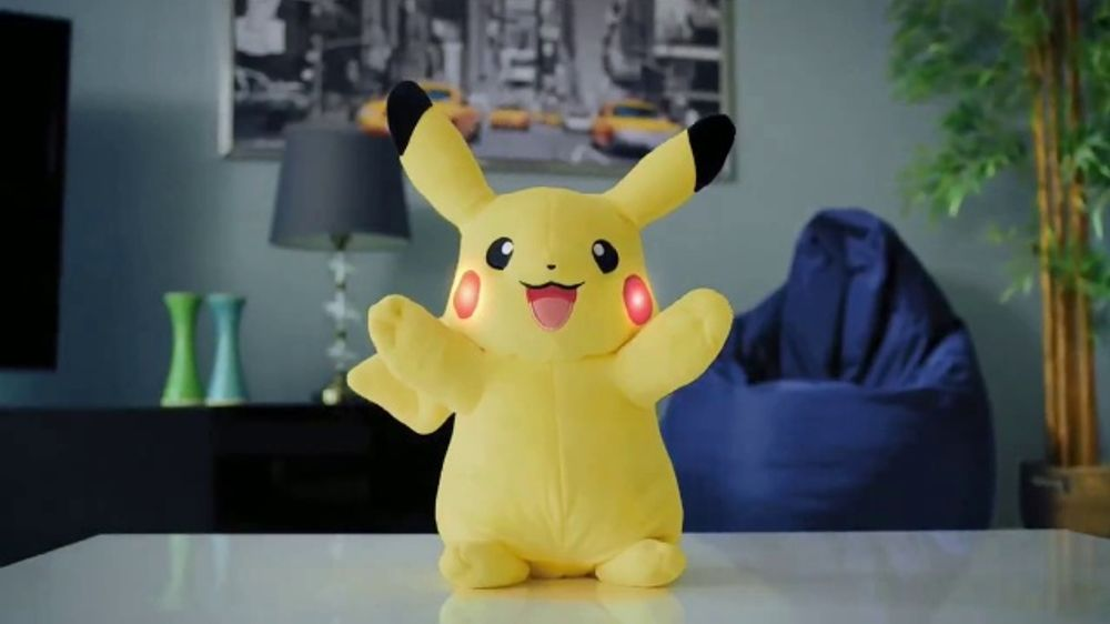 709fb7c7f1fab Pokémon Power Action Pikachu TV Commercial, 'Charge and Battle' - iSpot.tv