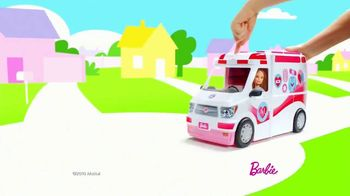 Barbie Care Clinic Vehicle TV Spot, 'Are You Feeling Blue?' - Thumbnail 1