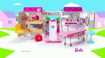 Barbie Care Clinic Vehicle TV Spot, 'Are You Feeling Blue?' - Thumbnail 3