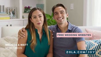 Zola TV Spot, 'No Idea Where to Start' - 393 commercial airings