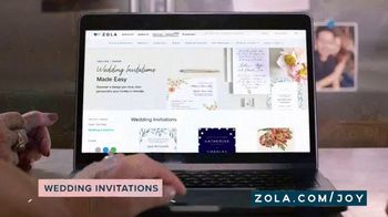 Zola TV Spot, 'No Idea Where to Start' - Thumbnail 3