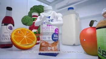 Ensure Max Protein TV Spot, 'More Protein With Less Sugar' - Thumbnail 4