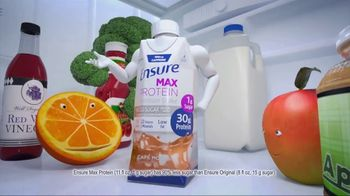 Ensure Max Protein TV Spot, \'More Protein With Less Sugar\'