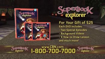 Superbook Explorer Volume 17 TV Spot, 'Following God's Direction'