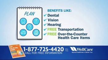 WellCare Medicare Advantage Plan TV Spot, 'We Can Help'
