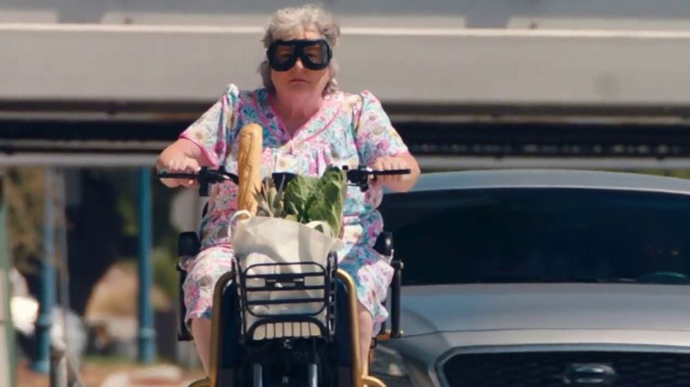 Roadside Assistance Progressive >> The General TV Commercial, 'Grandma Scooter' - iSpot.tv