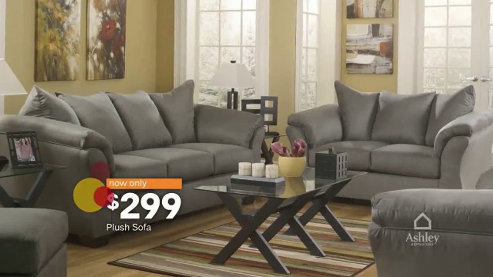 Ashley Homestore Semi Annual Sale Tv Commercial Clearance And