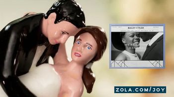 Zola TV Spot, 'Cake Toppers' - Thumbnail 4