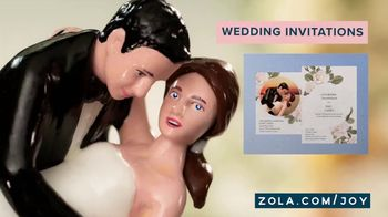 Zola TV Spot, 'Cake Toppers' - Thumbnail 5