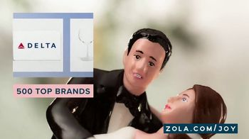 Zola TV Spot, 'Cake Toppers' - Thumbnail 7