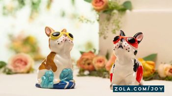 Zola TV Spot, 'Cake Toppers' - Thumbnail 8