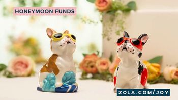 Zola TV Spot, 'Cake Toppers' - Thumbnail 9