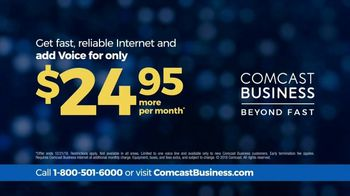 Comcast Business TV Spot, 'Fast and Reliable' - Thumbnail 9