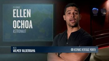 CBS Cares TV Spot, 'Hispanic Heritage Month: Ellen Ochoa' Featuring Wilmer Valderrama