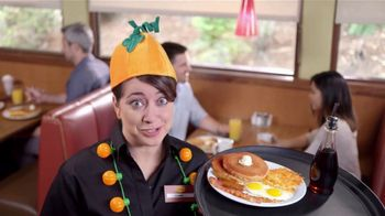 Denny's Super Slam TV Spot, 'Fall in Love With the New Pumpkin Super Slam!'