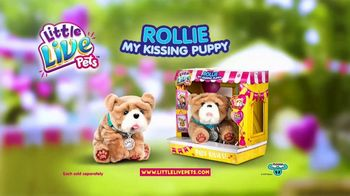 Little Live Pets Rollie My Kissing Puppy TV Spot, 'Kissing Booth' - Thumbnail 7