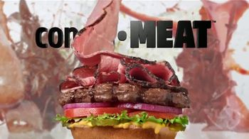 Carl's Jr. Pastrami Thickburger TV Spot, 'Con-di-MEAT' - Thumbnail 5