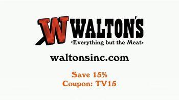 Walton's TV Spot, 'Homemade Sausage and Jerky' - Thumbnail 10