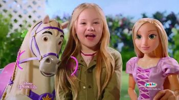Disney Princess Playdate TV Spot, 'Alice's Palace: Playdate With Rapunzel' - Thumbnail 10