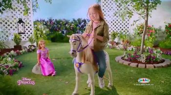 Disney Princess Playdate TV Spot, 'Alice's Palace: Playdate With Rapunzel' - Thumbnail 8