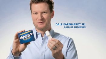 Goody's Stick Packs TV Spot, 'Pulled a Fast One' Featuring Dale Earnhardt Jr.