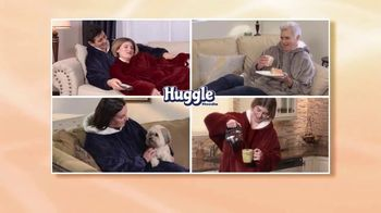 Huggle Hoodie TV Spot, 'Slip It on and the Chill is Gone' - Thumbnail 8