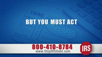 StopIRSDebt.com TV Spot, 'Tax Debt!'