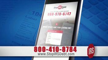 StopIRSDebt.com TV Spot, 'Tax Debt!' - Thumbnail 4