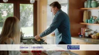 Enbrel TV Spot, 'My Dad's Pain: Grilled Cheese' Featuring Phil Mickelson - Thumbnail 6