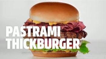 Carl's Jr. Pastrami Thickburger TV Spot, 'Con-di-MEAT: Bite' - Thumbnail 9