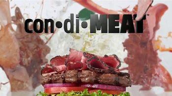 Carl's Jr. Pastrami Thickburger TV Spot, 'Con-di-MEAT: Bite' - Thumbnail 4