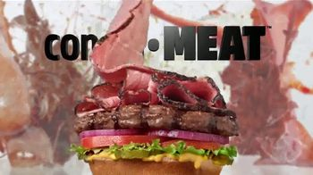 Carl's Jr. Pastrami Thickburger TV Spot, 'Con-di-MEAT: Bite' - Thumbnail 5
