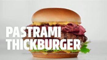 Carl's Jr. Pastrami Thickburger TV Spot, 'Con-di-MEAT: Bite' - Thumbnail 8