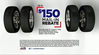 Tire Kingdom TV Spot, '$150 Mail-In Rebate'