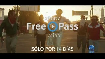 XFINITY FreePass Latino TV Spot, 'Pegamento: 14 días' [Spanish] - Thumbnail 7