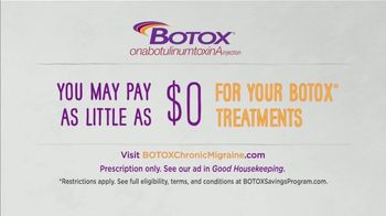 BOTOX (Migraine) TV Spot, 'Stand Up: Pay Nothing' - Thumbnail 9