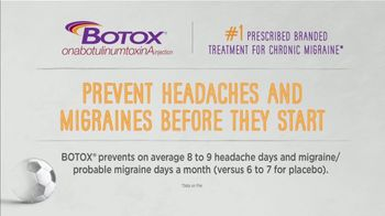 BOTOX (Migraine) TV Spot, 'Stand Up: Pay Nothing'
