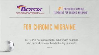 BOTOX (Migraine) TV Spot, 'Stand Up: Pay Nothing' - Thumbnail 3