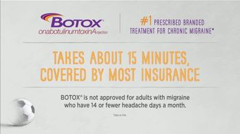 BOTOX (Migraine) TV Spot, 'Stand Up: Pay Nothing' - Thumbnail 4