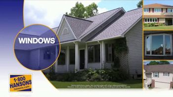 1-800-HANSONS Fall Fix Up Sale TV Spot, 'Windows, Siding and Roofing' - Thumbnail 4