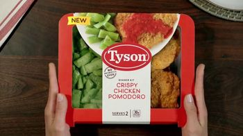 Tyson Meal Kit TV Spot, 'Simple, Honest Ingredients'
