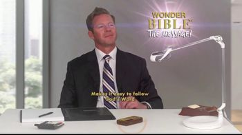 Wonder Bible The Message TV Spot, 'Easy to Follow'