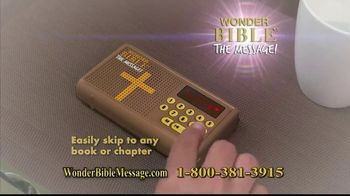Wonder Bible The Message TV Spot, 'Easy to Follow' - Thumbnail 5